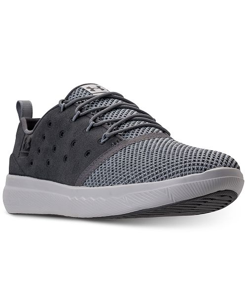 Under Armour Men s Charged 24 7 Low Casual Sneakers from Finish Line ... d292940a3