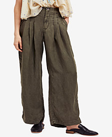 Free People Orion Slouchy Utility Trousers