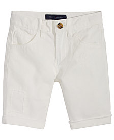 Tommy Hilfiger Five-Pocket Cotton Shorts, Big Boys