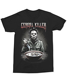 Changes Men's Cereal Killer Graphic-Print T-Shirt
