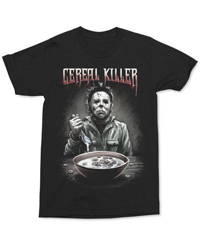 Changes Men's Cereal Killer Graphic-Print T-Shirt