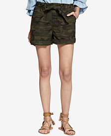 Sanctuary Daydreamer Camo-Print Shorts