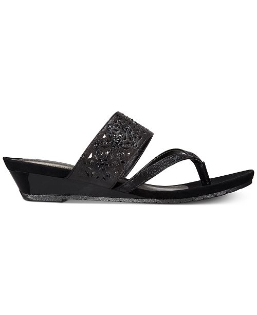 338e54d2c3 Kenneth Cole Reaction Women's Great Chime Wedge Sandals & Reviews ...