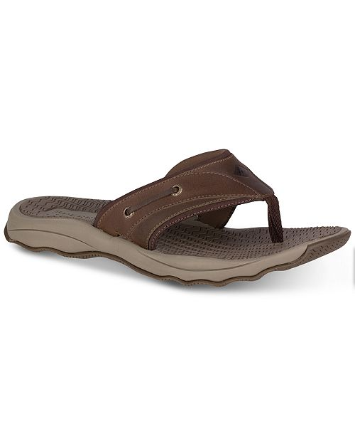 fec9af983e433 Sperry Men s Outerbanks Thong Sandals   Reviews - All Men s Shoes ...