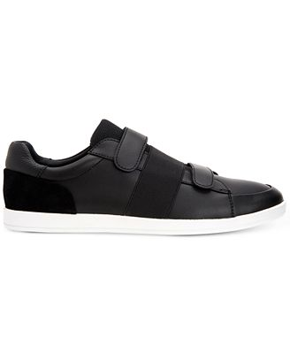 Calvin Klein Mace (Black Brushed Leather) Mens Shoes