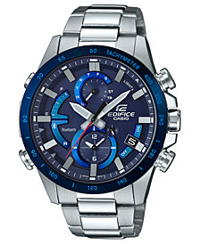 G-Shock Men's Solar Edifice Stainless Steel Bracelet Watch 42mm