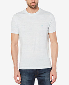 Original Penguin Men's Space-Dyed Stripe T-Shirt