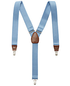Club Room Men's Clip Suspenders, Created for Macy's