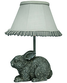 AHS Lighting Garden Bunny Accent Lamp