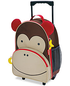 Skip Hop Monkey Rolling Luggage, Little Boys & Girls