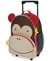 3201dbf5e33b Skip Hop Little Boys   Girls Monkey Rolling Luggage
