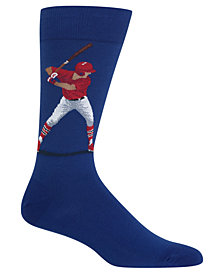 Hot Sox Men's Baseball Batter Socks