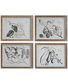 Fruit Branch Wall Décor, Set of 4