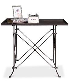 27''H Bronze Metal Table
