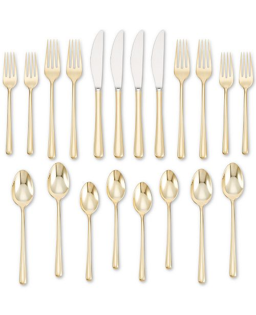 Cambridge Samantha Gold Flatware Collection
