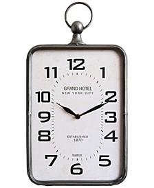 Metal Hanging Clock