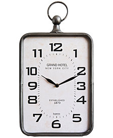 3R Studio Metal Hanging Clock