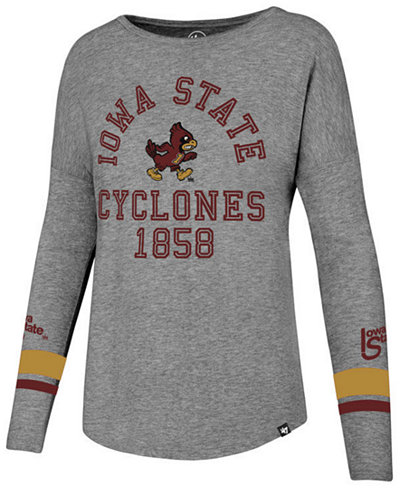 '47 Brand Women's Iowa State Cyclones Courtside Long Sleeve T-Shirt