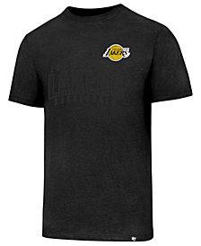 '47 Brand Men's Los Angeles Lakers Triple Double Club T-Shirt