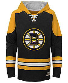 Outerstuff Boston Bruins Legendary Hoodie, Big Boys (8-20)