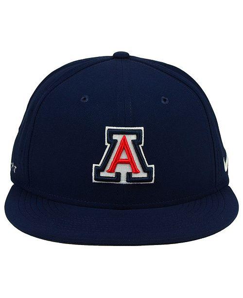 d84a10573ecf4 ... discount nike arizona wildcats aerobill true fitted baseball cap sports  fan shop by lids men macys