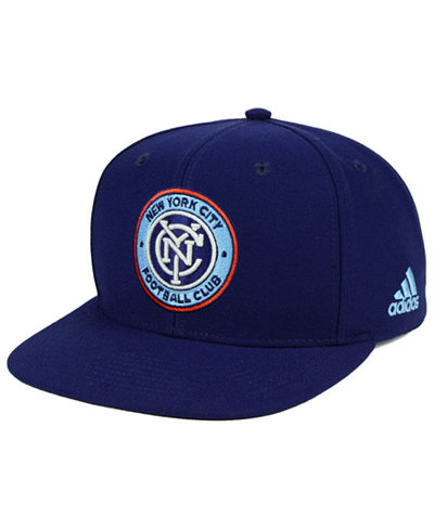 adidas New York City FC Poly Snapback Cap