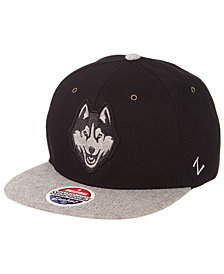 Zephyr Connecticut Huskies The Boss Snapback Cap