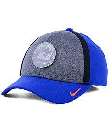 Nike New York Mets Team Color Reflective Swooshflex Cap