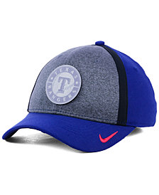 Nike Texas Rangers Team Color Reflective Swooshflex Cap