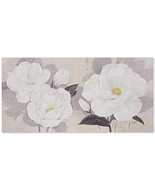 Madison Park Midday Bloom Florals Hand-Embellished Canvas Print