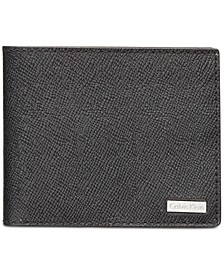 Men's Saffiano Leather Slim Wallet