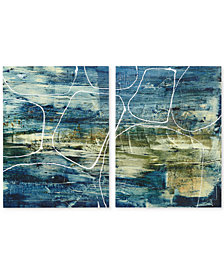 INK+IVY Cool Quarry 2-Pc. Canvas Print Set