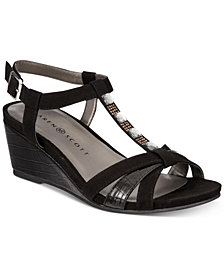 Karen Scott Clarita Wedge Sandals, Created for Macy's