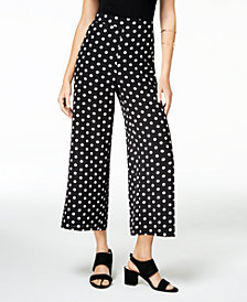Ultra Flirt By Ikeddi Juniors' Printed Cropped Pants