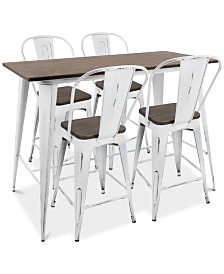 Oregon 5-Pc. Dining Set