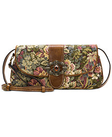 Patricia Nash Verdura Bosque Crossbody Clutch
