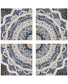 Madison Park Boho Medallion 4-Pc. Gel-Coated  Canvas Print Set