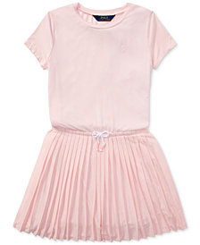 Polo Ralph Lauren Pleated Dress, Big Girls