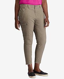 Lauren Ralph Lauren Plus Size Cargo Pants