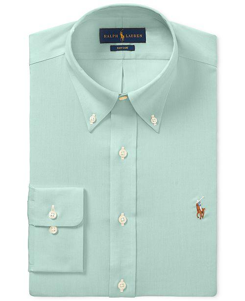 17b0bd88 Polo Ralph Lauren Men's Classic-Fit Dress Shirt & Reviews - Dress ...