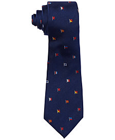 Ralph Lauren Men's Signal Flags Silk Tie