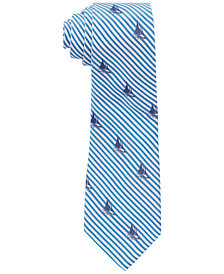 Ralph Lauren Men's Seersucker Sail Silk Tie
