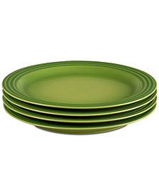"""Le Creuset 4-Pc. 10.5"""" Dinner Plates Set"""