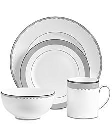 Dinnerware, Grosgrain 4-Pc. Place Setting