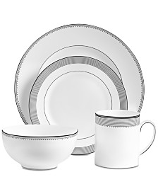 Vera Wang Wedgwood Dinnerware, Grosgrain 4-Pc. Place Setting
