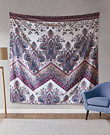 "Intelligent Design Tulay 90"" Square Printed Wall Tapestry"