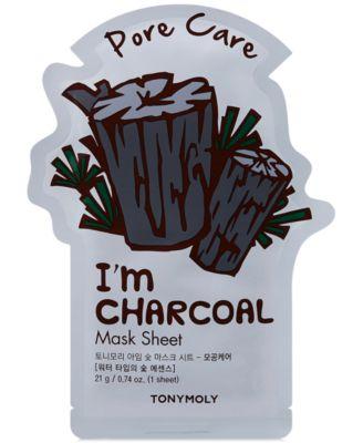 I'm Charcoal Sheet Mask - (Pore Care)