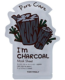 I'm Charcoal Sheet Mask - (Pore Care)