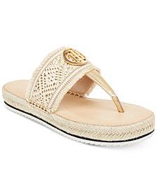 Tommy Hilfiger Nazia Espadrille Flatform Sandals
