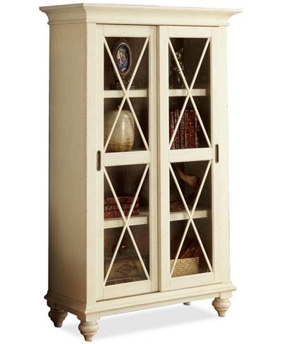 Brompton II Home Office Sliding Door Bookcase